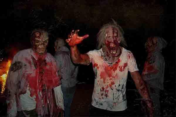 Zombie-Apokalypse in München, Grusel Event München, Zombie Event München, Horror Event München, Emmerich Events München, Halloween Events, Firmenevents, Firmenfeier München