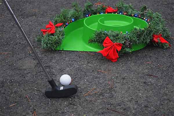 Weihnachtscrossgolf, Weihnachtsfeier, Weihnachtsevent, Teambuilding Events, Teambuilding, Crossgolfen, Emmerich Events