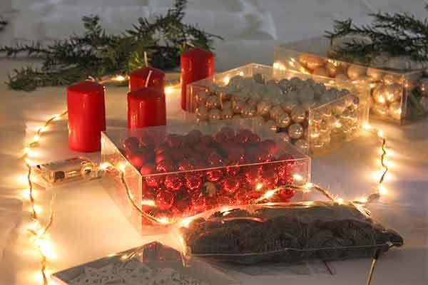 Adventskranz gestalten bei Emmerich Events, die Weihnachtsfeier