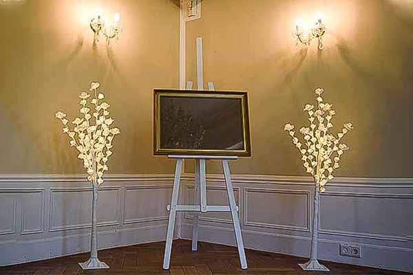 LED Bäume mieten, LED Rosenbäume Verleih, Eventtechnik, Hochzeitstechnik, Emmerich Events Verleih