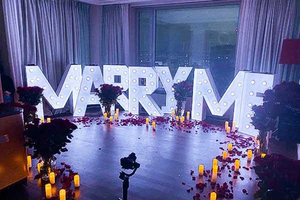 Marry Me Buchstaben mieten, Marry Me mieten, XXL Buchstaben, Heiratsantrag, Hochzeitsdeko, Antrag, freie Trauung, Hochzeit