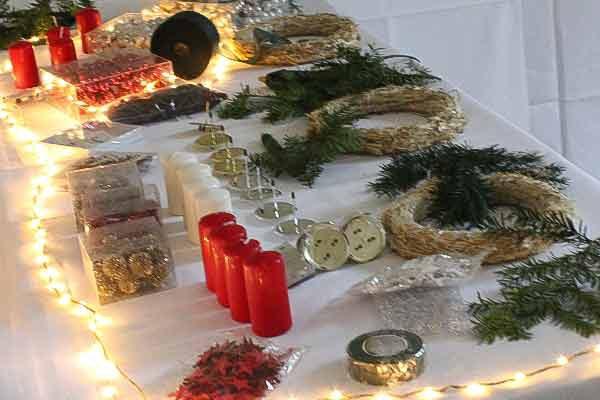 Adventskranz gestalten, Weihnachtskranz gestalten, die Weihnachtsfeier, Firmen-Weihnachtsfeier, Weihnachtsevent, Weihnachtsevent, Teambuilding, Firmenfeier, Emmerich Events, Horror Event, Firmenevent