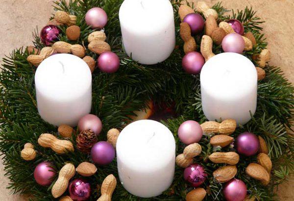 Adventskranz gestalten, Weihnachtskranz gestalten, die Weihnachtsfeier, Firmen Weihnachtsfeier, Weihnachtsevent, Weihnachtsevent, Teambuilding, Firmenfeier, Emmerich Events, Horror Events, Firmenevent