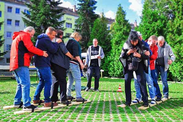Bayerische Challenge in Leipzig, Bayerische Challenge in Leipzig, Teambuilding Events in Leipzig, Firmenevent Leipzig, Betriebsausflugin Leipzig, Teambuilding Events, Firmenevents, Bayerische Olympiade