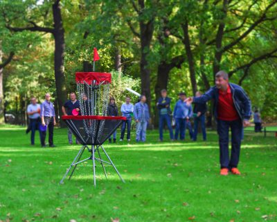 DIscgolf - Discgolf in Frankfurt am Main - Teambuilding - Teambuilding Events - Grusel Events - Events in Berlin - Emmerich Events