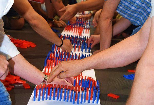 Domino Event in Köln, Domino Event Köln, Teamevent in Köln, Teambuilding Events in Köln, Firmenfeier in Köln, Firmenevent in LKöln, Domino Köln, Events in Köln
