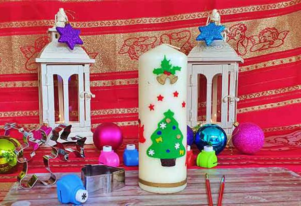 Emmerich Events, Weihnachtskerze bemalen in Bremen,, Weihnachtsfeier, Weihnachtskerzen bemalen, Firmenevents