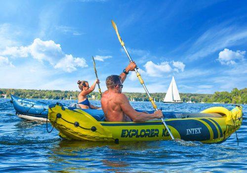 Kajak Schnitzeljagd Emmerich Events, Teambuilding auf dem Wasser, Teamgeist, Teamevent