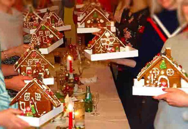 Lebkuchen bauen in Dortmund, Lebkuchen bauen, Weihnachtsfeier in Dortmund, Teambuilding Events Dortmund, Weihnachtsevents in Dortmund, Emmerich Events