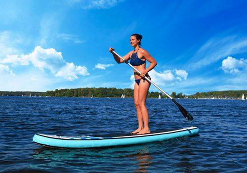 Stand Up Paddle Board Tour, Emmerich Events. Teambuilding auf dem Wasser, Firmenevent, Teamevent