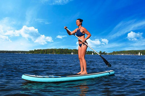 Stand Up Paddle Board Tour, Emmerich Events. Teambuilding auf dem Wasser, Firmenevent, Teamevent