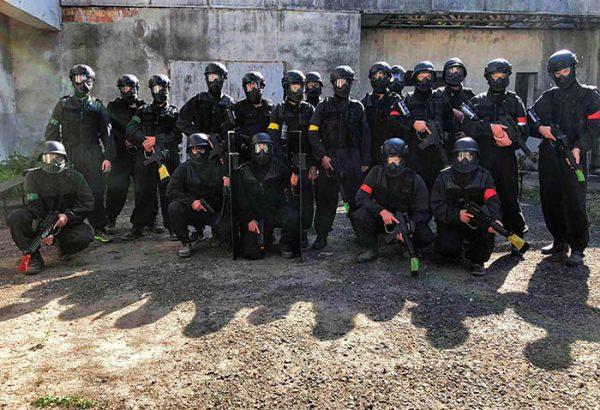 Junggesellenabschied Swat Training,  Junggesellinnenabschied, Männerabend, Frauenabend, Action Events, Horror Events, Grusel Events, Junggesellinnenabschied Ideen, Geschenkgutschein