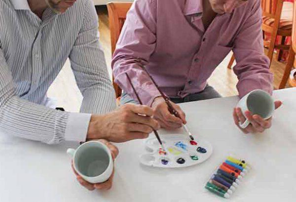 Tasse gestalten, Firmenevent, Teambuilding, Firmenfeier, Emmerich Events, Firmenevents