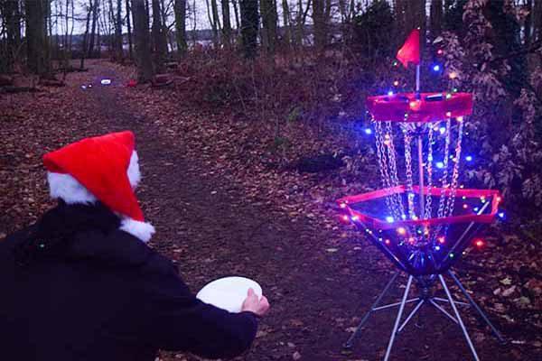Weihnachtsdiscgolf, Discgolf, Weihnachtsfeier, Weihnachtsevent,