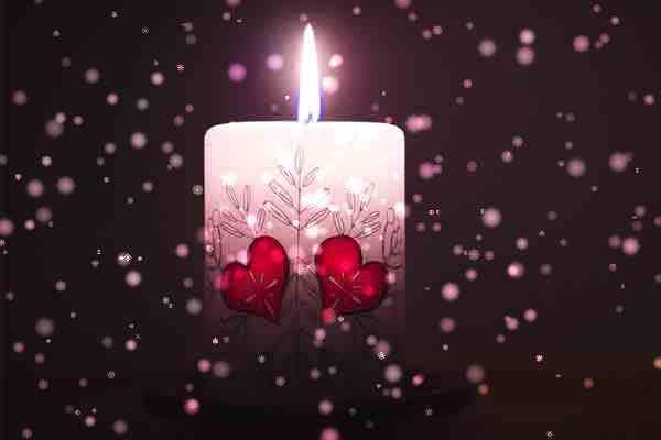Weihnachtskerze bemalen Hannover, die Weihnachtsfeier in Hannover, Weihnachtsfeier Hannover