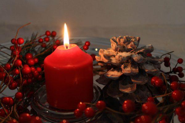 Weihnachtskerze bemalen in München - die Weihnachtsfeier in München, Weihnachtsfeier München, Weihnachtskerzen bemalen München