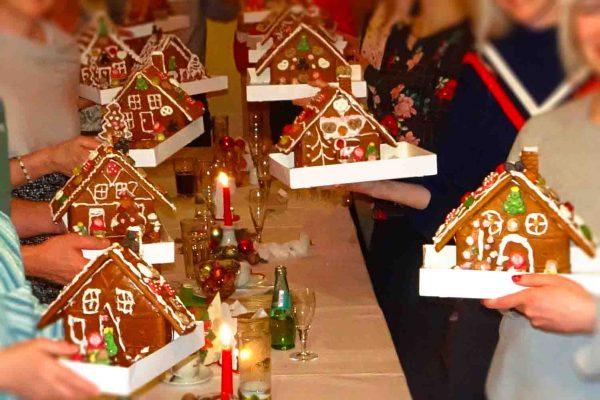 Weihnachtskunstwerk, Weihnachtsevents, Weihnachtsevents, Emmerich Events, Teambuilding