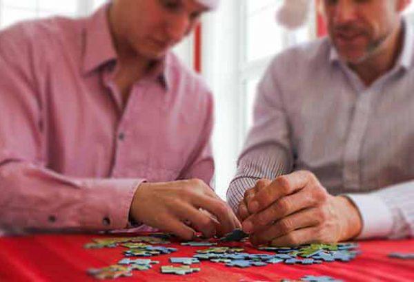 Weihnachtspuzzle bei Emmerich Events, Weihnachtsfeier, Firmen-Weihnachtsfeier, Weihnachtsevent, Weihnachtsevent, Teambuilding, Firmenfeier, Firmenevent