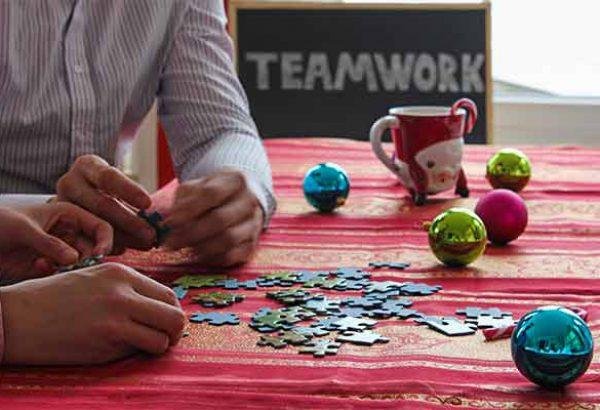 Weihnachtspuzzle bei Emmerich Events, Weihnachtsfeier, Firmen-Weihnachtsfeier, Weihnachtsevent, Weihnachtsevent, Teambuilding, Firmenfeier, Horror Events, Firmenevent